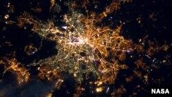 Berlinin 322 kilometr yüksəklikdən görüntüsü