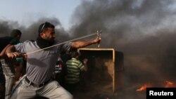 مرز غزه و اسرائیل