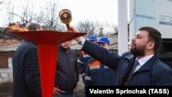 Главарь «ДНР» Денис Пушилин. Донецкая область, Горловка. Март 2019 года