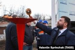 Лідер угруповання «ДНР» Денис Пушилін