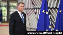 Preşedintele român Klaus Iohannis