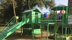 Детские площадки за счет бюджета Тирасполя