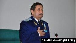 Рашид Кадыров в бытность генеральным прокурором Узбекистана.