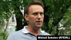Оппозиция жетекшілерінің бірі Алексей Навальный.