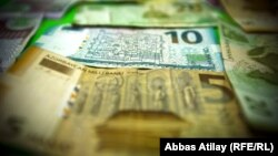 Azerbaijan - money, manat