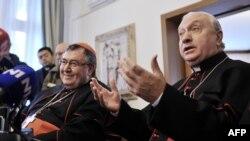 Luigi Pezzuto i Vinko Puljić u Sarajevu