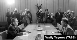 Совет-ауған келіссөзі. 1978 жыл.