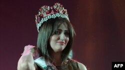 Իրաքի գեղեցկուհի ճանաչված Շայմա Քասիմ Աբդելռահմանը, Բաղդադ, 19-ը դեկտեմբերի, 2015թ․