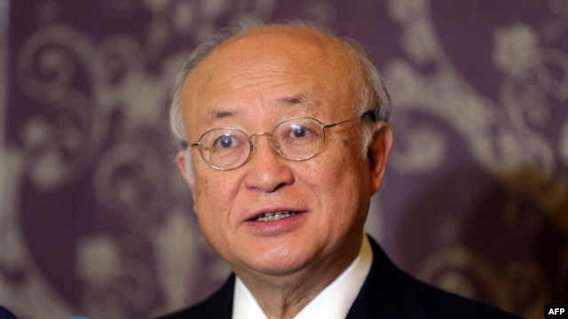Yukiya Amano, director-general of the International Atomic Energy Agency (file photo)