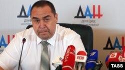"""Өзін-өзі жариялаған """"Луганск халық республикасының"""" басшысы Игорь Плотницкий."""