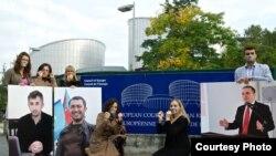 2013-cü ildə Avropa Şurası qarşısında keçirilmiş etiraz aksiyası