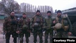 Фото групове: Юрій Величко – крайній зліва, Іван Білий – другий зліва