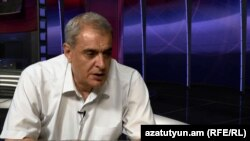 Давид Шахназарян в студии «Азатутюн ТВ», 16 июля 2014 г․