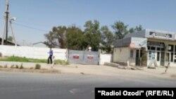 Даромадгоҳи Пойгоҳи низомии Русия дар Душанбе.
