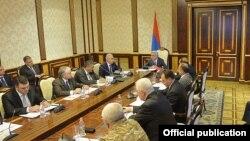 Ermənistan Milli Təhlükəsizlik Şurasının iclası