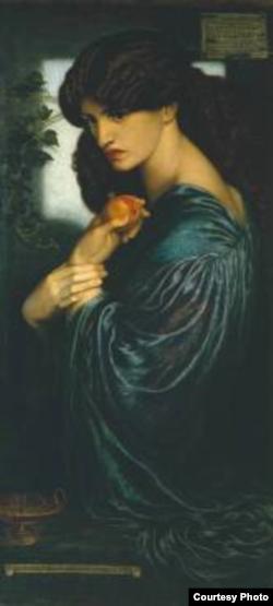 Данте Габриэль Россетти. Прозерпина. 1874 год