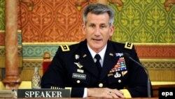 جنرال جان نیکولسن قوماندان قوای امریکایی و ناتو در افغانستان