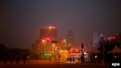 نمای بخشی از شهر بیجنگ