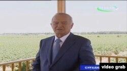 Islom Karimov viloyatlarga safari chog'ida fermerlar bilan tez-tez uchrashib turadi