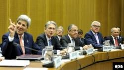 Венада Иран белән атом килешүенә ирешкән алты илнең тышкы эшләр министрлары
