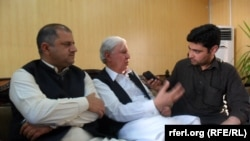 Pakistan peoples Party head Aftan Ahmad Khan Sherpao