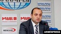 Заместитель министра иностранных дел Армении Роберт Арутюнян, 29 мая 2018 г.