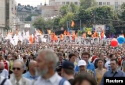 Під час акції опозиції в Москві, 12 червня 2013 року