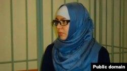 23-летная Эльвира Султанахметова на скамье подсудимых.
