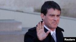 Kryeministri i Francës, Manuel Valls.