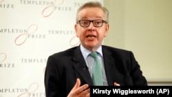 وزیر محیط زیست بریتانیا سرزنش بوریس جانسون به دلیل اظهاراتش در مورد نازنین زاغری را اشتباهی بزرگ توصیف کرده است.