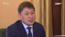 """Сапар Исаков: """"Коррупцияга малынбайм"""""""