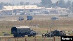 Pamje nga baza ajrore ushtarake turke, Incirlik
