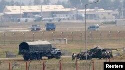 Pamje e pjesëtarëve të ushtrisë së Turqisë
