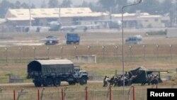 Turska vojska u bazi Indžirlik