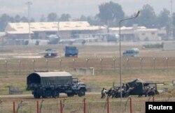 Турецкие части ПВО на учениях в районе базы ВВС Инджирлик. Весна 2017 года