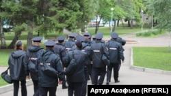 Российские полицейские. Иллюстративное фото.