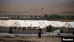 Iraq, Mosul, düşərgə.