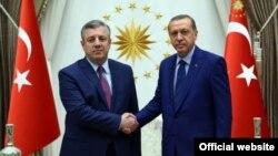საქართველოს პრემიერ-მინისტრისა და თურქეთის პრეზიდენტის შეხვედრა