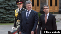 Президенти України Петро Порошенко s Болгарії Росен Плевнелієв