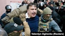 Задержание Михаила Саакашвили, 5 декабря 2017