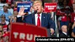 U.S. President Donald Trump announces his 2020 reelection bid in Orlando, Florida, in June.