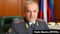 Министр внутренних дел Дагестана, Абдурашид Магомедов