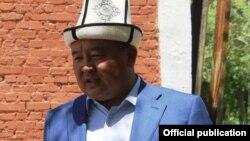 Президент федерации кок-бору Кыргызстана Икрамжан Илмиянов.