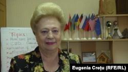 Preşedinta Asociaţiei de Nursing din Moldova, Elena Stempovscaia (captură video)