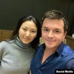 Алексей Филатов жана Назира Айтбекова.