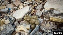 Наслідки землетрусу, який відбувся в Ірані в листопаді