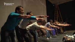 Refugees Find Friendship On A Belgrade Stage