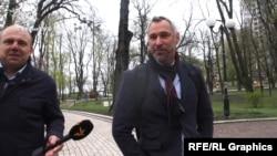Руслан Рябошапка відмовився розповідати, про що говорили на зустрічі