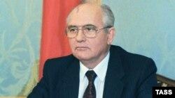 Михаил Горбачев выступает по Центральному телевидению с заявлением о своей отставке, 25 декабря 1991 год