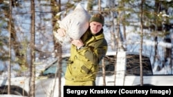 "Sergei Krasikov ""is one of those people who really loves nature and is ready to lay down his life for it,"" says a colleague."